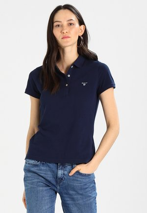 Polo shirt - shadow blue
