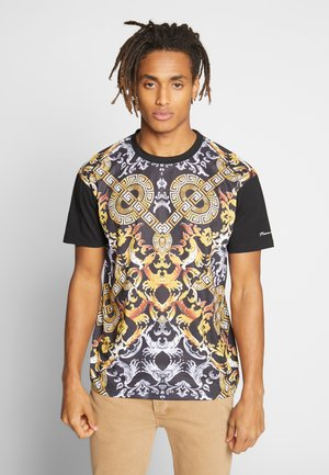 MONTY TEE - T-shirt con stampa - black