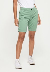 Superdry - CITY - Shorts - khaki - 0