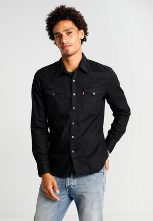 BARSTOW WESTERN - Camicia - black