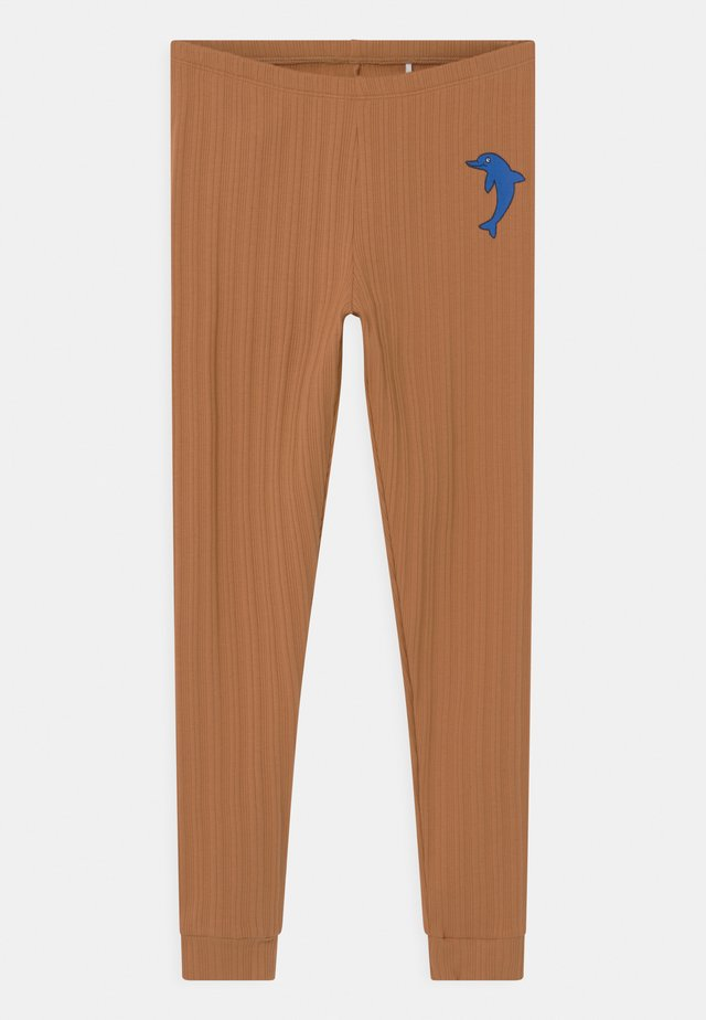 DOLPHIN UNISEX - Leggings - Hosen - brown