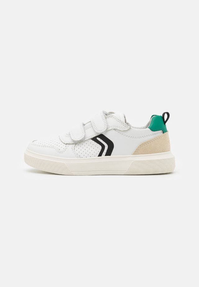 NETTUNO BOY - Sneakers laag - white/green