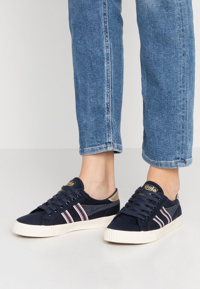 TENNIS MARK COX SELVEDGE - Sneakersy niskie - navy/indigo