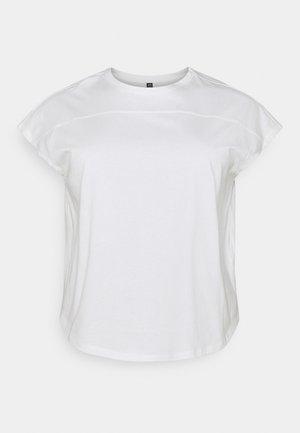 PCLOTIO LOUNGE - Jednoduché triko - bright white