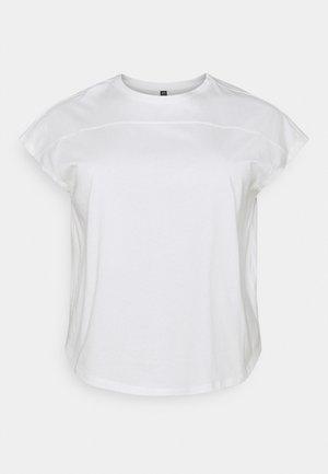 PCLOTIO LOUNGE - T-shirts basic - bright white