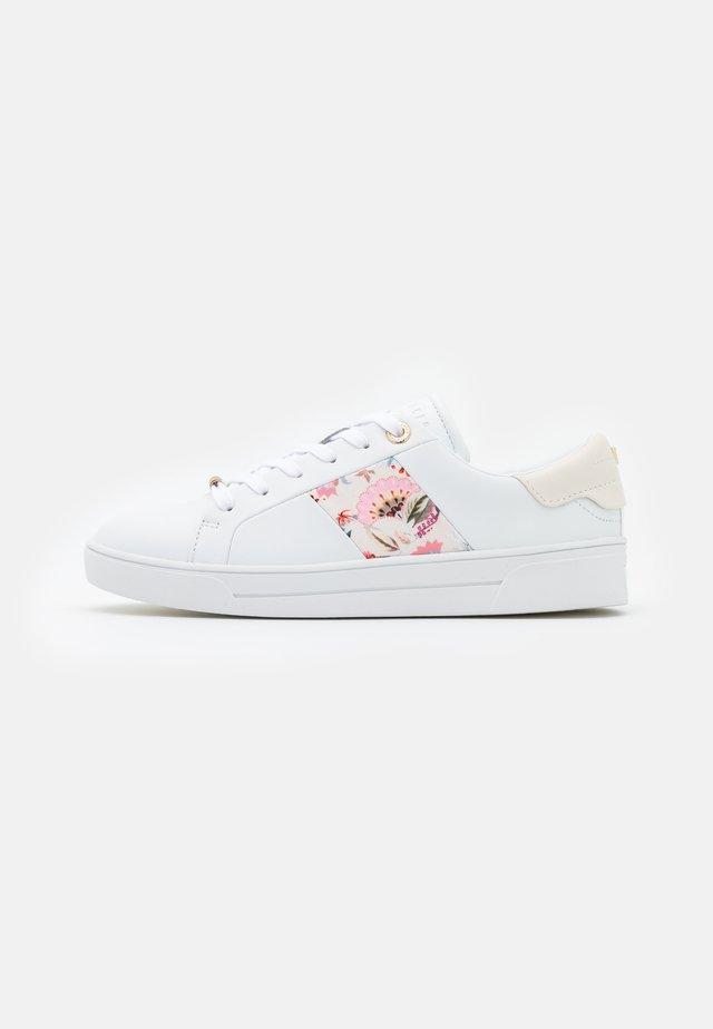 HUDEP - Baskets basses - white
