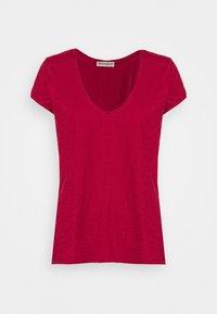 DRYKORN - AVIVI - Basic T-shirt - rot - 0