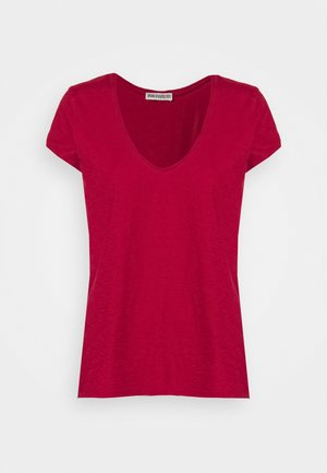 AVIVI - Jednoduché triko - rot