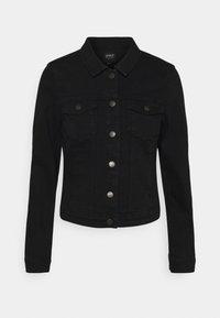 ONLWESTA LIFE JACKET  - Denim jacket - black
