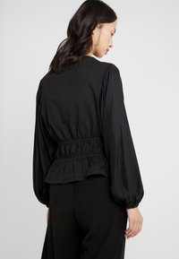 Opening Ceremony - Long sleeved top - black - 2