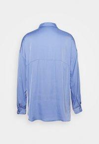someday. - ZEIKE - Button-down blouse - balance blue - 1