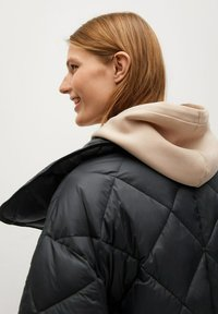 Mango - CROCO - Winter coat - schwarz - 4