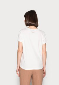 Mos Mosh - CHÉRIE TEE - Print T-shirt - woodsmoke - 2