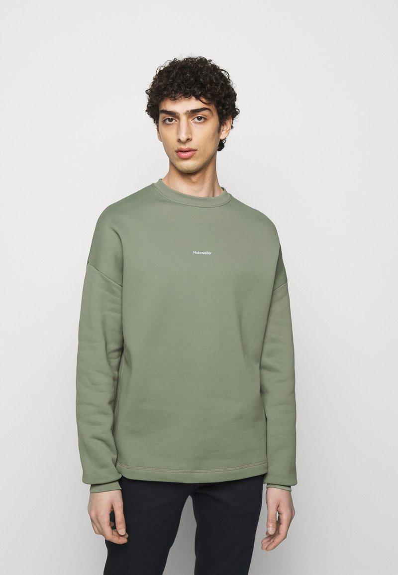 Holzweiler - FLEA CREW - Sweatshirt - teal