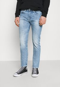 Edwin - TAPERED - Straight leg -farkut - blue denim - 0