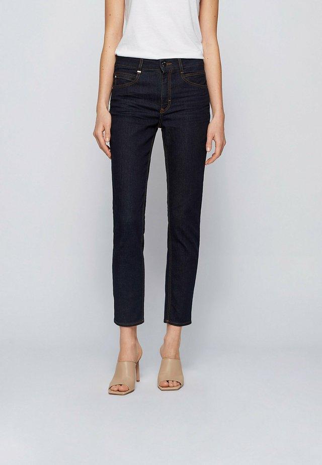 CROP - Jeans Slim Fit - dark blue