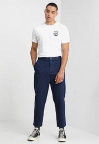 Edwin - FUJI SAN  - T-shirt imprimé - white - 1