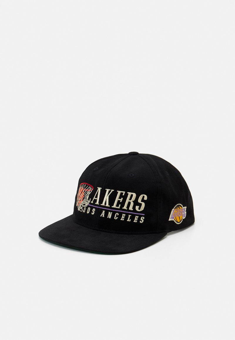 Mitchell & Ness - LA LAKERS VINTAGE HOOP - Casquette - black