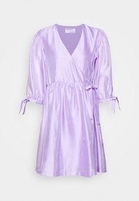 DESIGNERS REMIX - ENOLA WRAP DRESS - Robe d'été - lavender - 6