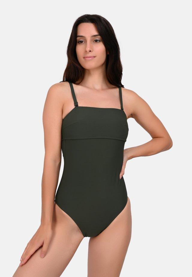 IMOGEN - Swimsuit - khaki