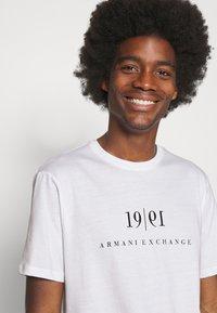 Armani Exchange - Print T-shirt - white - 3