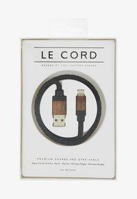Le Cord - Cavo per ricarica - black/dark wood - 1