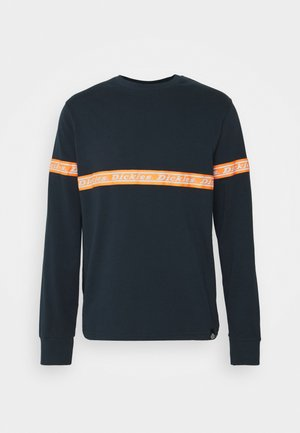 WEST FERRIDAY - Langærmede T-shirts - dark navy