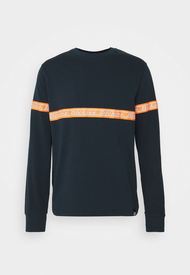 WEST FERRIDAY - Long sleeved top - dark navy