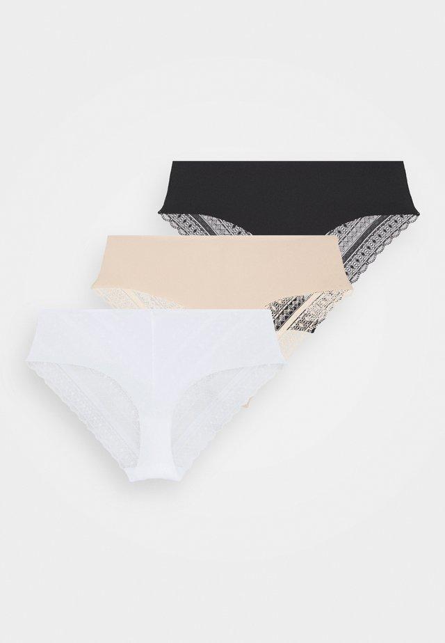 FROLIC 3PP  - Figi - black/white /pink