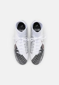 Nike Performance - MERCURIAL 7 ACADEMY MDS SGPROAC - Screw-in stud football boots - white/black - 3