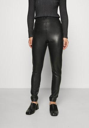 ONLSUPER STAR LEA - Pantalon classique - black