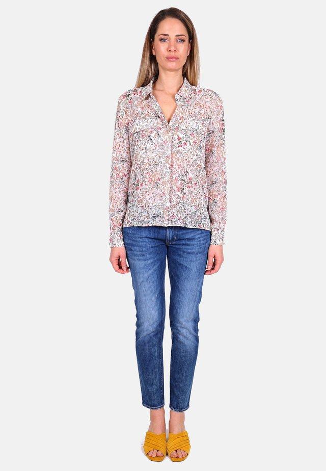 Button-down blouse - vanilla