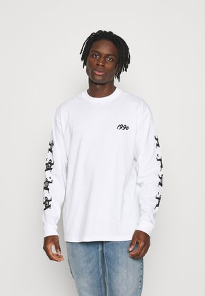 NINJA TUNE - Long sleeved top - white/blue