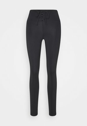 LEGGINGS - Punčochy - jet black