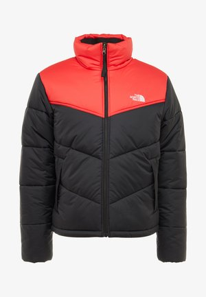 JACKET - Zimní bunda - black/red