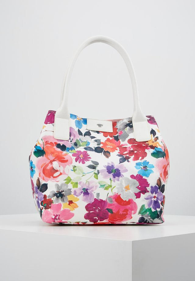 MIRI RIVIERA - Bolso shopping - white