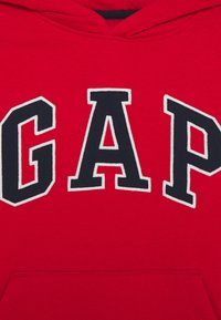 GAP - BOY CAMPUS LOGO HOOD - Felpa con cappuccio - red wagon - 2