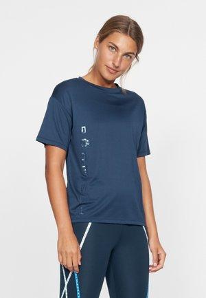 IVY LOOSE TEE - T-shirt print - dark navy