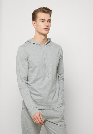 HOODIE - Pyjamashirt - andover heather