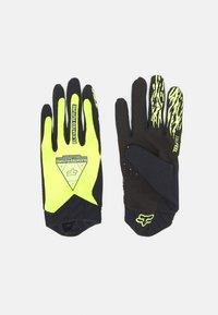 Fox Racing - FLEXAIR ELEVATED GLOVE - Fingerhandschuh - neon yellow - 0