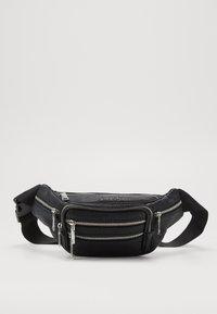 Topshop - TUMBLED BUMBAG - Bum bag - black - 0
