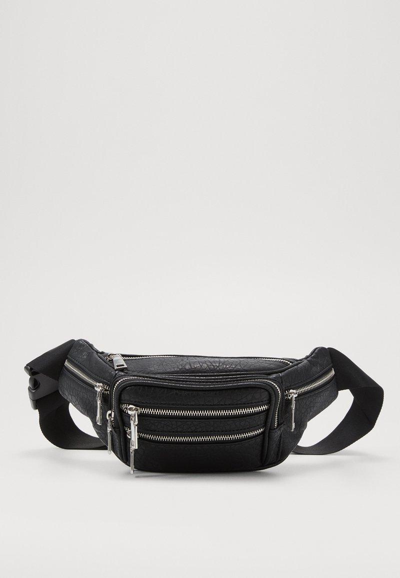 Topshop - TUMBLED BUMBAG - Bum bag - black
