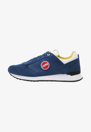 Trainers - blue / white