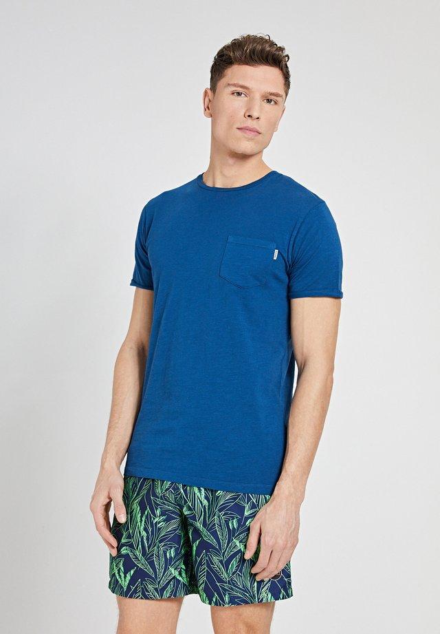 T-shirt imprimé - poseidon blue