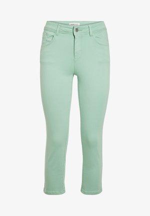 SCHLANKE EINFARBIGE BASIC-HOSE - Pantaloni - vert clair