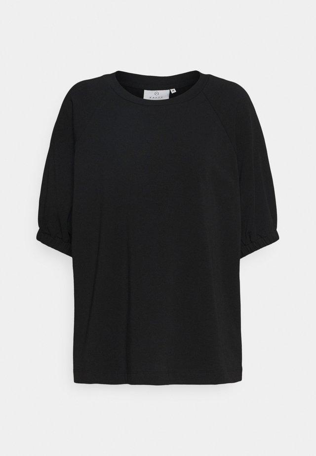 KADANA LINDA - T-shirt basic - black deep