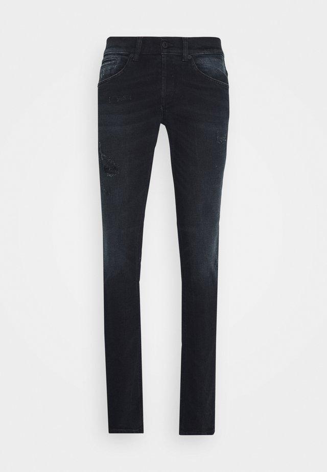 PANTALONE GEORGE - Jeans Skinny Fit - black denim