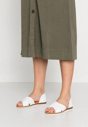 CHIUSI - Sandals - white