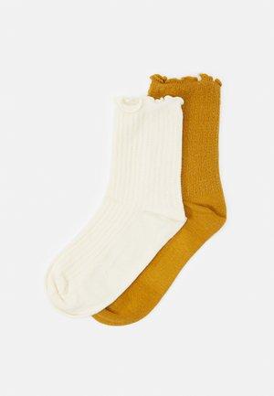 OLGA SOCK 2 PACK - Socks - white