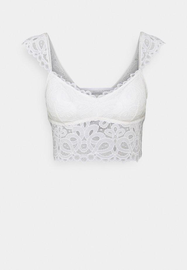 CAPSLEEVE - Korzet - bright white